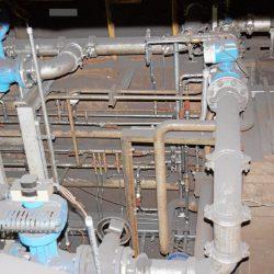 Wasserverteilungssystem zum Kühlen von Rohstahlprodukten
