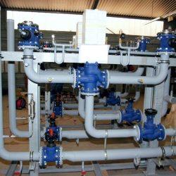 Vorfertigung von Baugruppen für Rauchgas-Kühlsysteme in Asien; Leistung je Linie ca. 950 kW