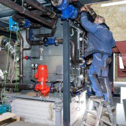 Rauchgas-Kühlsysteme mit MSR- und Sicherheitstechnik; Leistung 700…1000 kW