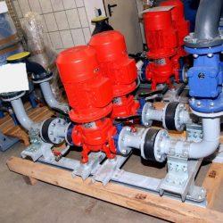 Vorfertigung von Baugruppen für Rauchgas-Kühlsysteme in Asien;Leistung je Linie ca. 950 kW